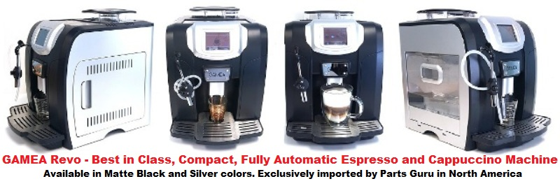 GAMEA Revo Fully Automatic Espresso Machine